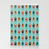 heroes Stationery Cards featuring Heroes by Tomas Hudolin