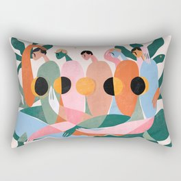 Lunar cycle Rectangular Pillow