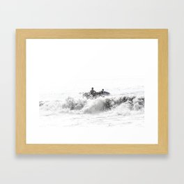 In The Brine Framed Art Print