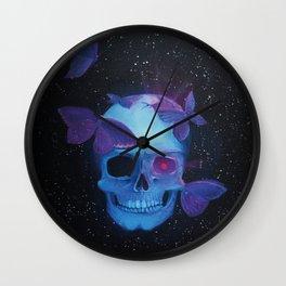 Deathly Attraction Wall Clock