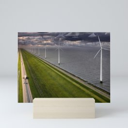 Rising Sea from the Dutch Mini Art Print