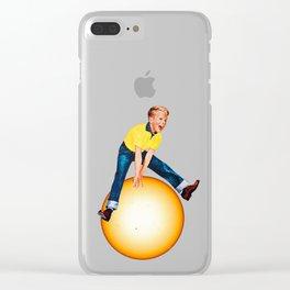 Star Hopper 2 Clear iPhone Case