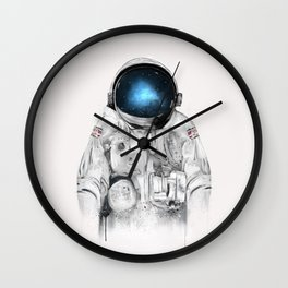 the astronaut Wall Clock