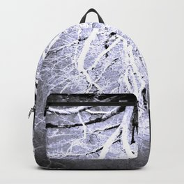 Twisted Perception gray Backpack