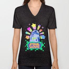 R2-D2 Star Love Unisex V-Neck