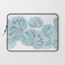 Sea Grape Tropical Leaves Laptop Sleeve