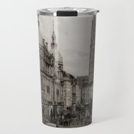 Watching the Cathedral Travel Mug