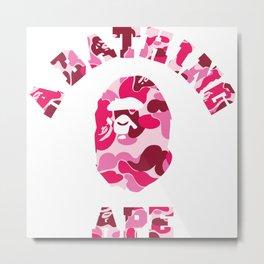 a bathing ape logo Metal Print