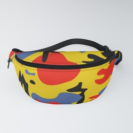 primary abstract Fanny Pack