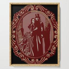 Dracula & Mina Serving Tray