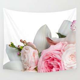 Get Real Flowers Wall Tapestry