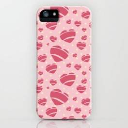 50's Rock a Billy Hearts - by Jezli Pacheco iPhone Case