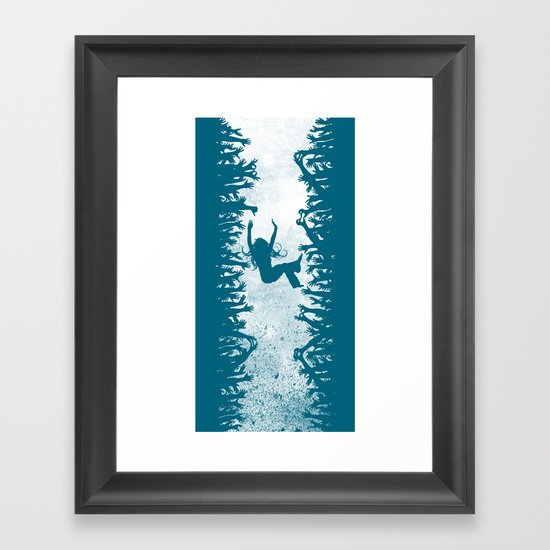 Labyrinth: Helping Hands Framed Art Print