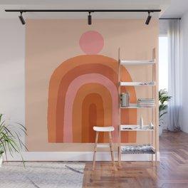 Abstraction_SUN_Rainbow_Minimalism_009 Wall Mural