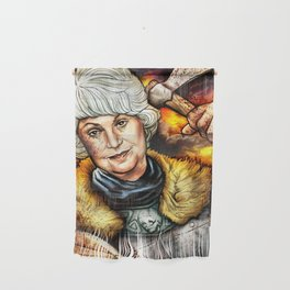 """""""Picture it: Sicily 1061"""" Golden Girls- Bea Arthur Wall Hanging"""