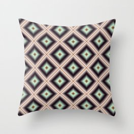 Starry Tiles in BMAP 00 Throw Pillow