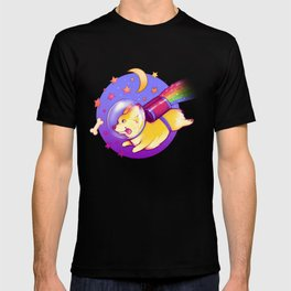 See You Space Corgi T-shirt