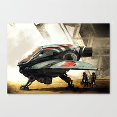 Marine Shuttle 2134 Canvas Print