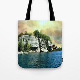 Golden Sky Over the Mountain - Mohonk Tote Bag