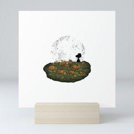 A Most Sincere Pumpkin Patch-No Glow Ink Mini Art Print