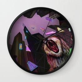 Hong Kong Lion Wall Clock