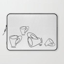 Cuppa Candor [Ivory] Laptop Sleeve