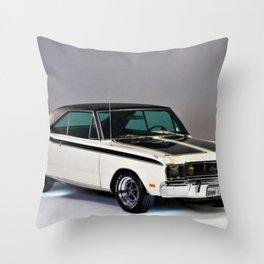 1971 Brazilian MOPAR Charger RT Rare Muscle Car Throw Pillow