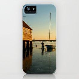 Wading Out Bosham iPhone Case