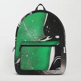 Dark Movie Green Backpack