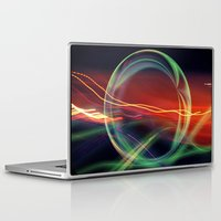 stargate Laptop & iPad Skins featuring The Gate Abstract by minx267