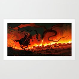 Unsung Hero - Courage Art Print