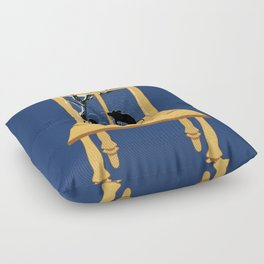 Window Seat Floor Pillow