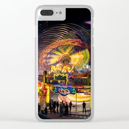Fairground Attraction panorama Clear iPhone Case