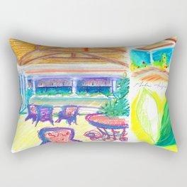 caribe hotel Rectangular Pillow