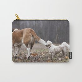 Take the World by the Tail Carry-All Pouch