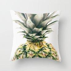 Pineapple Close-Up Throw Pillow