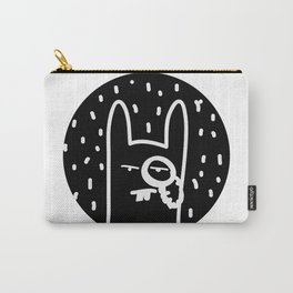Bourgeois  Bunny  Carry-All Pouch