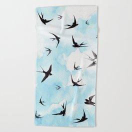 Swallows Beach Towel