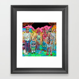 King of the Mutants Framed Art Print