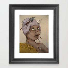 Primal Athena  Framed Art Print