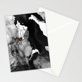 Black & White Horse Stationery Cards