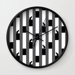 AMAZING KITTY Wall Clock