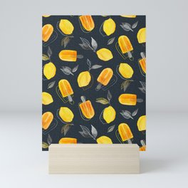 Fresh Lemons & Frozen Pops Mini Art Print