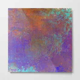 Abstract with my Eyes Closed Metal Print