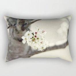 the begining Rectangular Pillow