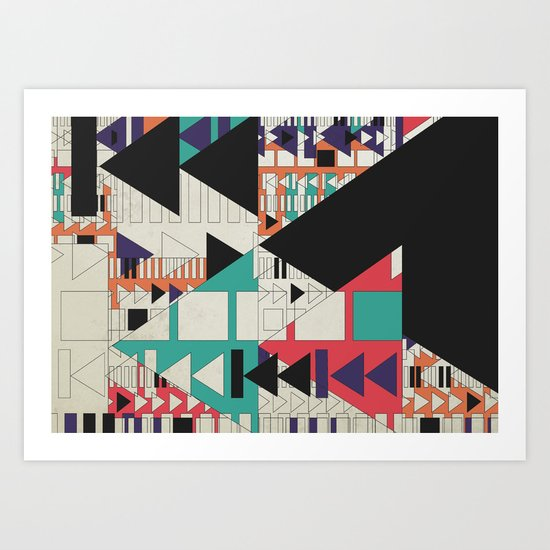 play stop pause rewind Art Print