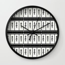 Filmic Wall Clock