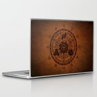 the legend of zelda Laptop & iPad Skins featuring The Legend Of Zelda by Electra