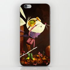 Autumn Mouse iPhone & iPod Skin