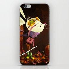 Autumn Mouse iPhone Skin
